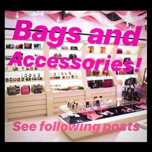 ‼️Available Bags and Accessories‼️